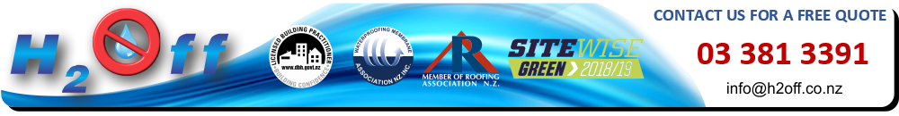A family owned Christchurch based waterproofing company.